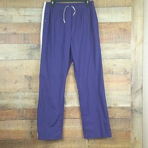 Nike Golf Pants Men's Fit Storm Size XL Purple Whi